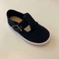 50 Koko Navy T-Bar Canvas